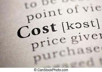 bekostningen