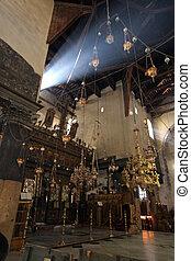 belén, basílica, de, natividad