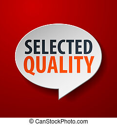 bel, geselecteerde, toespraak, achtergrond, kwaliteit, rood, 3d
