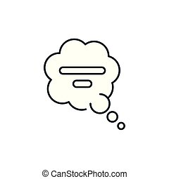 bel, stijl, pictogram, klesten, toespraak, lijn