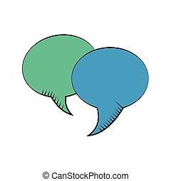bel, toespraak, dialoog, communicatie