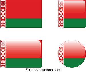 Belarus flag & buttons