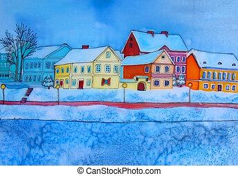 belarus., painting., minsk, original