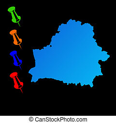 Belarus travel map