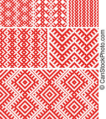 Belarussian traditional patterns