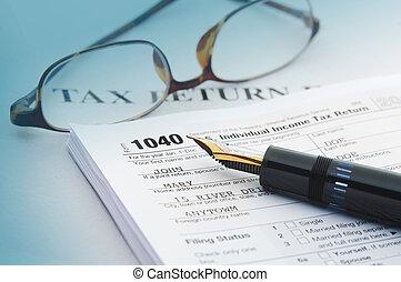 belasting, boekhouding