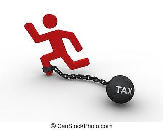 belasting, concept