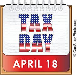 belasting, dag
