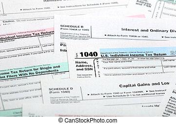 belasting, forms.