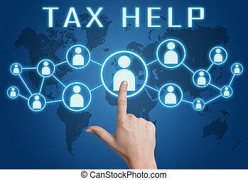 belasting, helpen