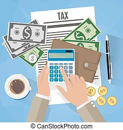 belasting, ontwerp, betaling