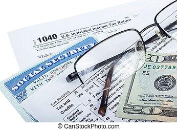 belasting, voorbereiding