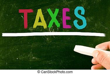 belastingen, concept