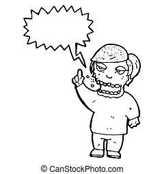 belching man cartoon