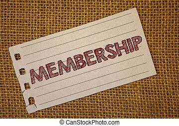 beletrystyka, istota, tekst, pojęcia, wiadomość, grupa, wiklina, membership., członek, tło., czarnoskóry, konceptualny, czerwony, pokaz fotografie, część, słówko, organizationnotebook, znak, wstąpić, albo, drużyna, strona