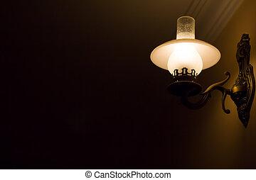 beleuchtung, schalfzimmer