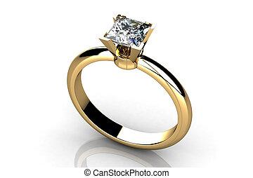 beleza, anel casamento