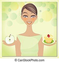 beleza, dieta