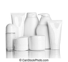 beleza, higiene, recipiente, tubo, cuidado saúde
