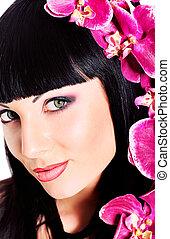 beleza, orquídea