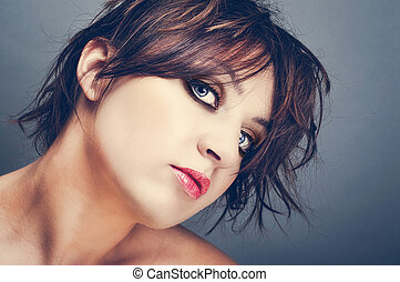 beleza, retrato