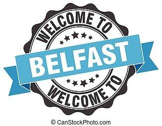 Belfast round ribbon seal