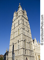 Belfort Tower in Ghent
