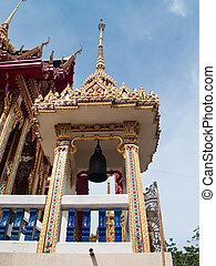 Belfry in Nang Sao Temple, Samut Sakhon, Thailand