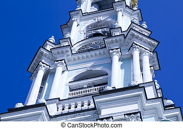 belfry in the Trinity Sergius Lavra