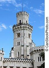 Belfry of Hluboka castle