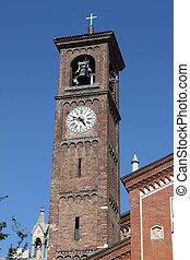 Belfry of Saint Eufemia church, Milan