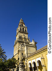Belfry of the mosque of Cordoba - Spain