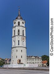 Belfry of the Vilnius cathedral - Belfry on cathedral square...