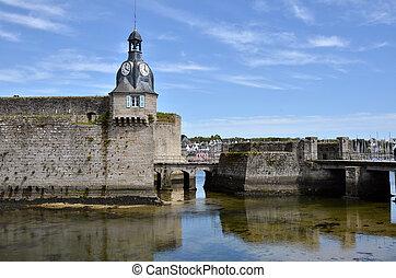 Belfry of Ville Close of Concarneau