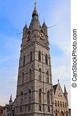 Belfry tower in Ghent