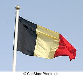 Belgian flag - Belgium's flag