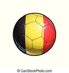Belgian Flag Football - Soccer Ball