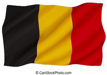 belgie, nationale vlag
