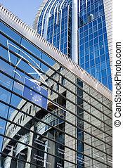 belgien, -, parlament, bryssel, europe