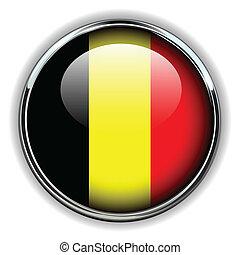 Belgique bouton drapeau forme rond fait bouton - Bouton de liege ...