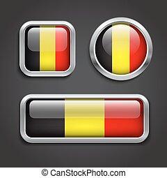 Illustrations sous licence de belgique bouton drapeau - Bouton de liege ...
