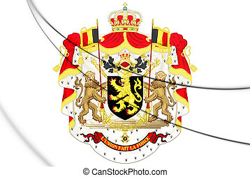 Belgium Coat of Arms.