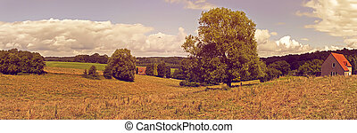 Belgium country side