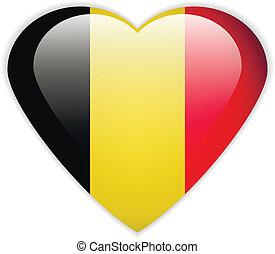 Belgium flag button.