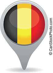 belgium flag pointer