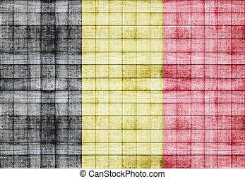 Belgium flag texture background