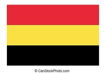 Belgium flag vector template background realistic copy