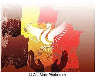 Belgium grunge flag