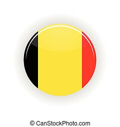 Belgium icon circle