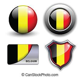 Belgium icons - Belgium flag icons theme.